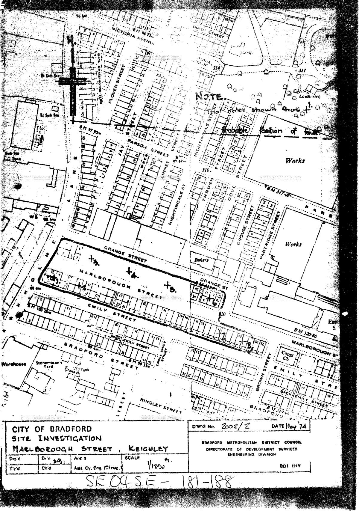 Page 1 | Borehole SE04SE187 | Borehole Logs